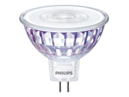 Žárovka LED Philips bodová, 7W, GU5,3W, teplá bílá
