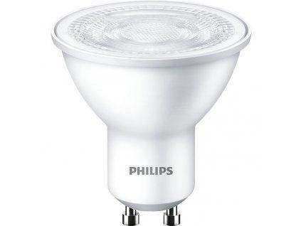 Žárovka LED Philips bodová, 4,7W, GU10, teplá bílá, 3ks