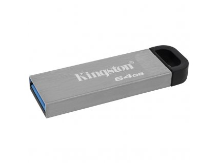 Flash USB Kingston DataTraveler Kyson 64 GB USB 3.2 - stříbrný