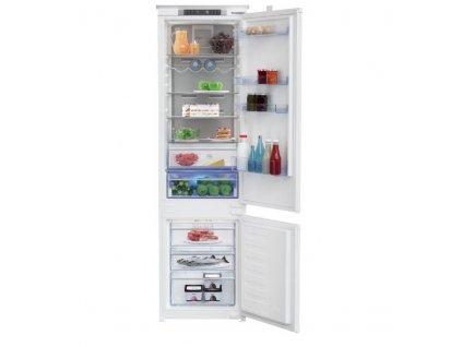 Kombinovaná chladnička Beko BCNA306E3SN, vestavná
