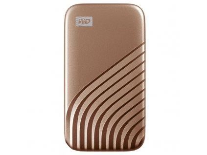 SSD externí Western Digital My Passport SSD 500GB - zlatý