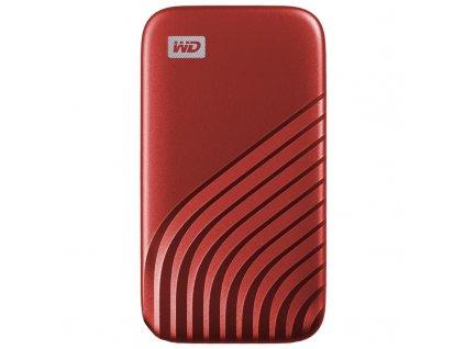 SSD externí Western Digital My Passport SSD 500GB - červený
