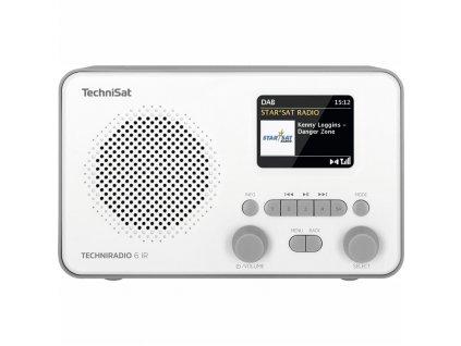 Internetové rádio s DAB TechniSat TECHNIRADIO 6 IR, bílé