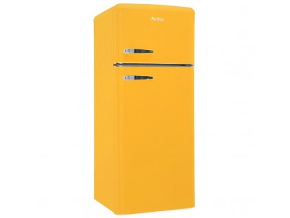 Kombinovaná chladnička Amica VD 1442 AY, Retro