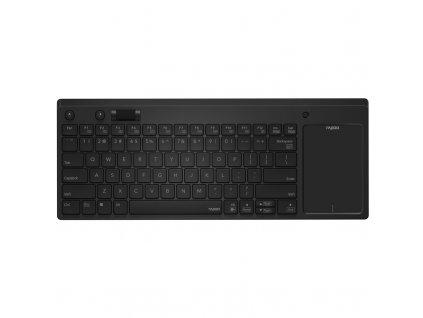 Klávesnice Rapoo K2800 TouchPad, CZ/SK layout - černá