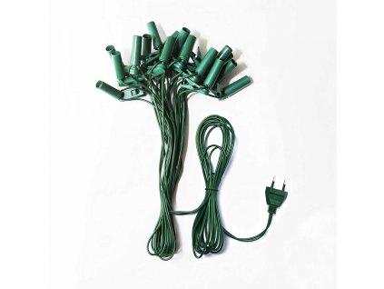 Kabeláž pro SV-16 zelený sokl + typový štítek, balení v celofánu