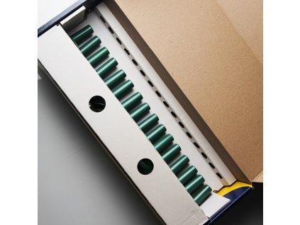 Kompletní souprava SV-16 bez žárovek s vložkou v krabici se zelenými sokly