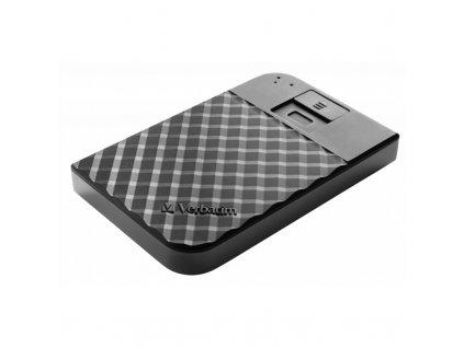 "Externí HDD 2,5"" Verbatim Fingerprint Secure, 1TB - černý"