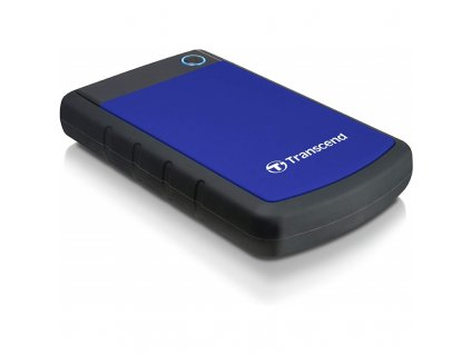 """Externí HDD 2,5"""" Transcend StoreJet 25H3B 4TB, USB 3.0 (3.1 Gen 1) - černý/modrý"""
