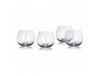 MAISON FORINE Sada sklenic na brandy SOMMELIER CHEST 440 ml, 4 ks