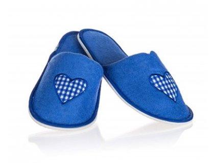 Pantofle pro hosty dámské HEART 26 cm, mix barev