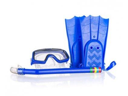 SPORTWELL Dětská potápěčská sada, 3 díly