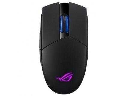 Myš Asus ROG Strix Impact II Wireless / optická/ 5 tlačítek/ 16000DPI - černá