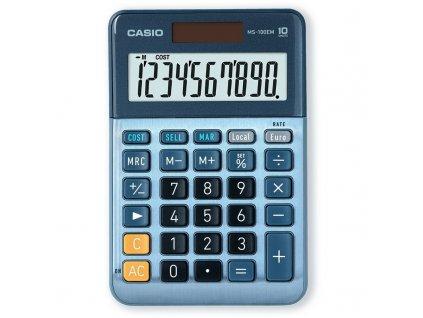 Kalkulačka Casio MS 100 EM - modrá