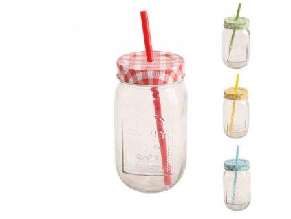 Láhev sklo STRAW víč+brč 0,5l