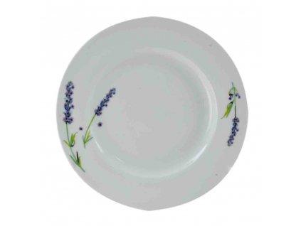 Porcelánový talíř Levandule mělký