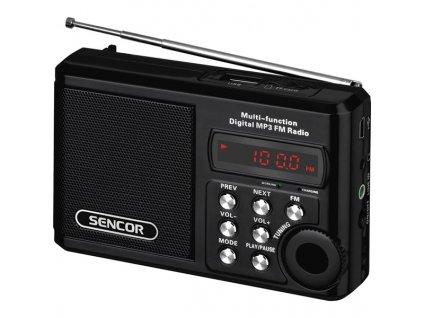 Radiopřijímač s USB/MP3 Sencor SRD 215 B