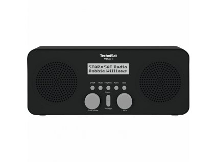 Radiopřijímač DAB+ TechniSat VIOLA 2 S , černý