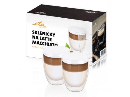 Skleničky na latte macchiato ETA 4181 91020, 350 ml, 2ks