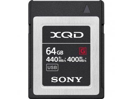 Paměťová karta Sony XQD G 64 GB (440R/400W)
