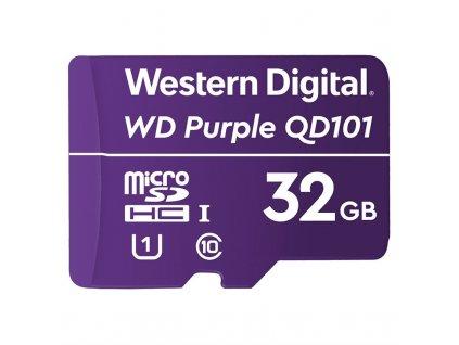 Paměťová karta Western Digital Purple microSDHC 32GB UHS-I U1