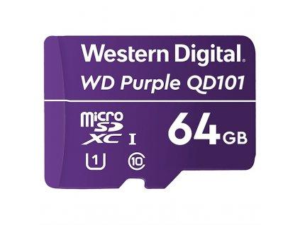 Paměťová karta Western Digital Purple microSDXC 64GB UHS-I U1