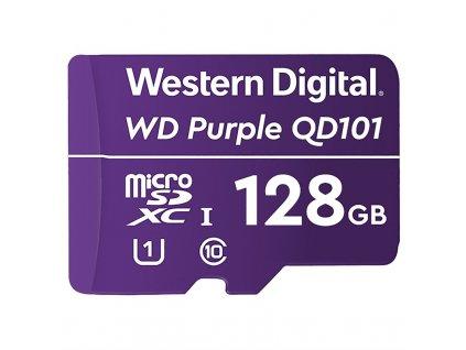 Paměťová karta Western Digital Purple microSDXC 128GB UHS-I U1