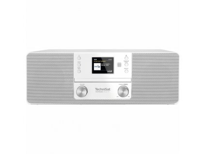 Internetové rádio s DAB+/CD TechniSat DIGITRADIO 370 CD IR, bílé