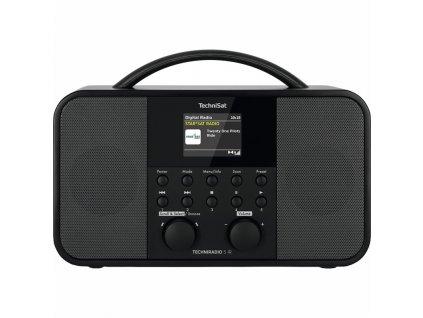 Internetové rádio s DAB+ TechniSat TECHNIRADIO 5 IR, černé