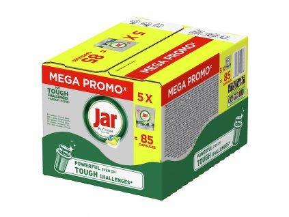 Kapsle do myčky Jar tabs BOX Platinum Yellow 5 x 17 ks
