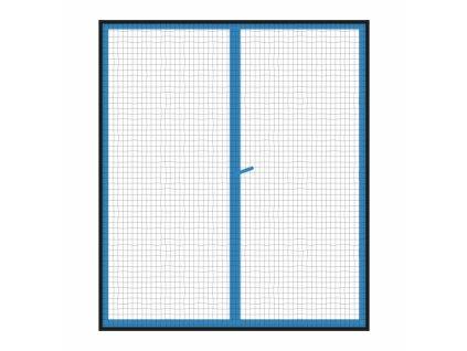 Síť proti hmyzu okno 2x 130x150 cm černá