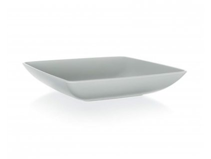 BANQUET Talíř hluboký hranatý CULINARIA 17,5 x 17,5 cm, šedý