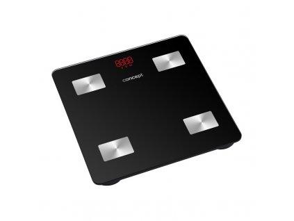 Váha osobní Concept VO4001 Perfect Health, diagnostická, černá