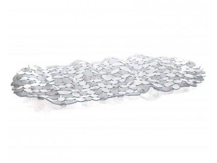 BRILANZ Podložka do vany protiskluzová PEBBLE 66 x 34 cm, transparentní