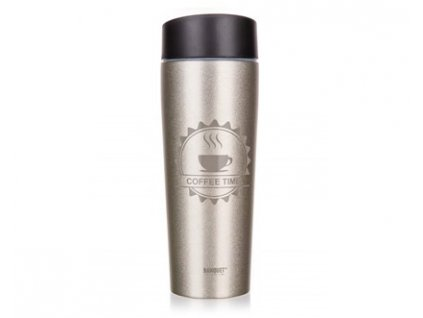 BANQUET Termohrnek COFFEE 350 ml, Ivory