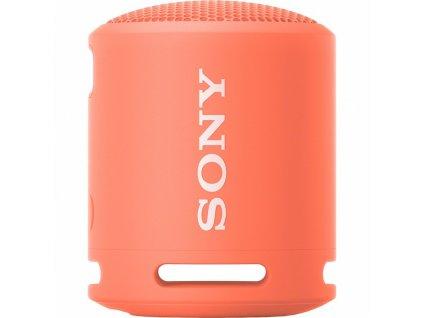Přenosný reproduktor Sony SRS-XB13, červeno-růžový