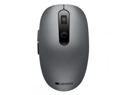 Myš Canyon CNS-CMSW09R / optická/ 6 tlačítek/ 1500DPI - šedá