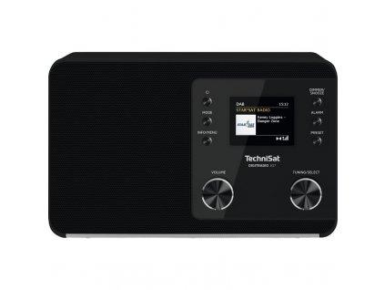 Radiopřijímač DAB+ TechniSat DIGITRADIO 307, černý