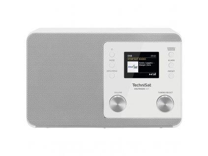 Radiopřijímač DAB+ TechniSat DIGITRADIO 307, bílý