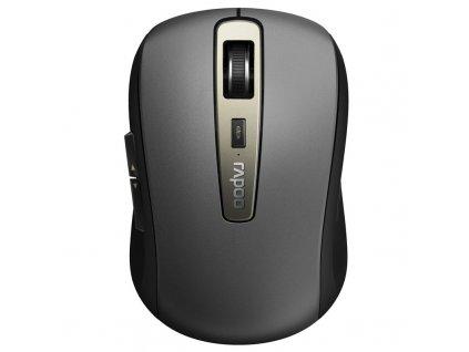 Myš Rapoo MT350 / optická/ 6 tlačítek/ 1600DPI - šedá