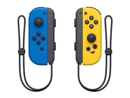 Ovladač Nintendo SWITCH Joy-Con Pair Fortnite Edition - modrý/žlutý