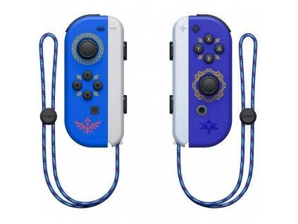 Gamepad Nintendo SWITCH Joy-Con Pair Hylian Shield and Master Sword - modrý/fialový