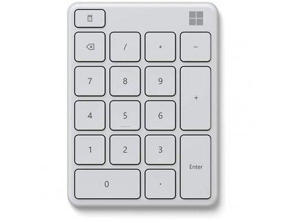 Klávesnice Microsoft Numerická Bluetooth - bílá