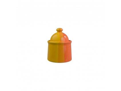 BANQUET Cukřenka keramická 270 ml, oranžovožlutá