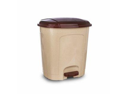 Odpadkový koš 3 l béžová