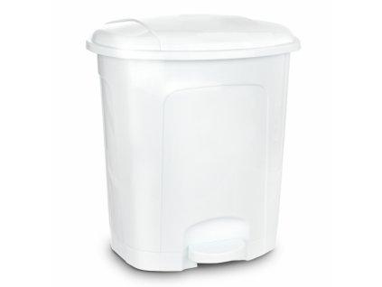 Odpadkový koš 30 l bílá