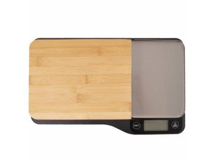 Kuchyňská váha digitální s krájecím prkénkem