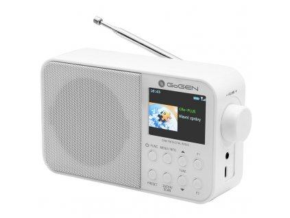 Radiopřijímač DAB+ GoGEN DAB 500 BT C, bílý