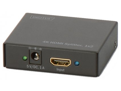 HDMI rozbočovač Digitus 1x2, podpora 4K