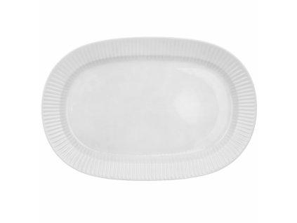 Porcelánový servírovací talíř VLNKA 37,5x25cm